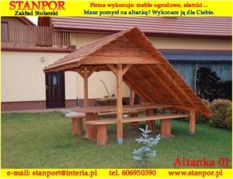 Drewniane Altanki Altanki Ogrodowe Drewniane Altany Producent